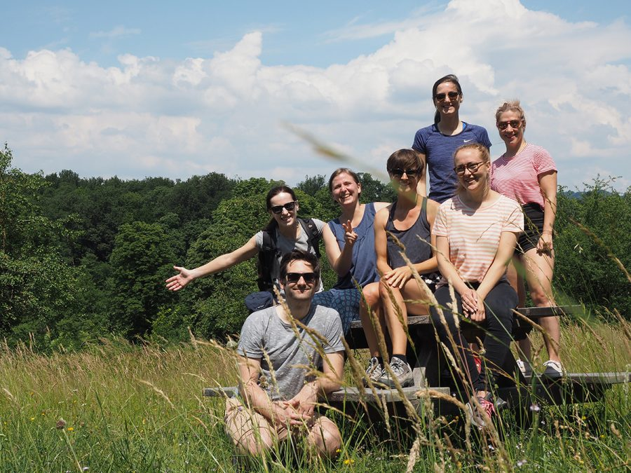 Portrait of the hiking group